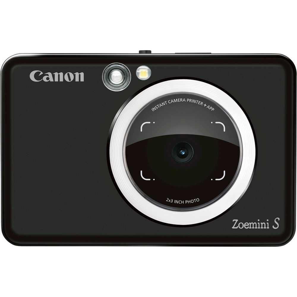Canon Instant Camera Drucker Zoemini S Mattschwarz