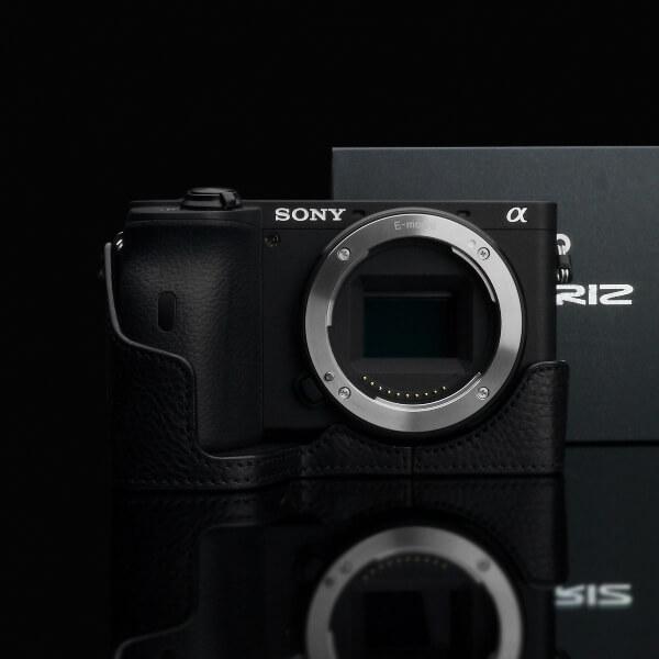 Gariz Halfcase Schwarz für Sony A6600