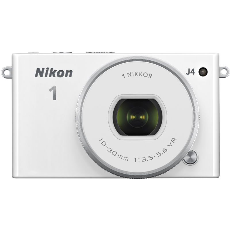 Nikon 1 J4 + VR 10-30 mm PD-Zoom Weiß OUTLET