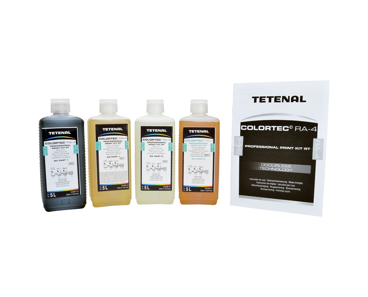 Tetenal Colortec RA-4 Prof Kit 5L