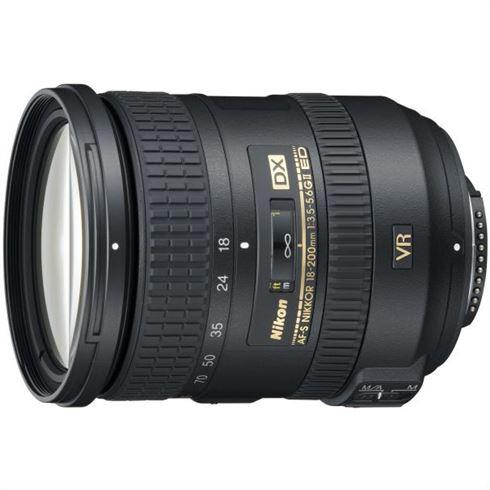 Nikon AF-S 18-200mm F/3.5-5.6G DX VR II OUTLET