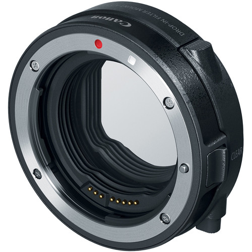 Canon EF - EOS R Mount Adapter mit drop-in zirkulärer Polarisationsfilter A