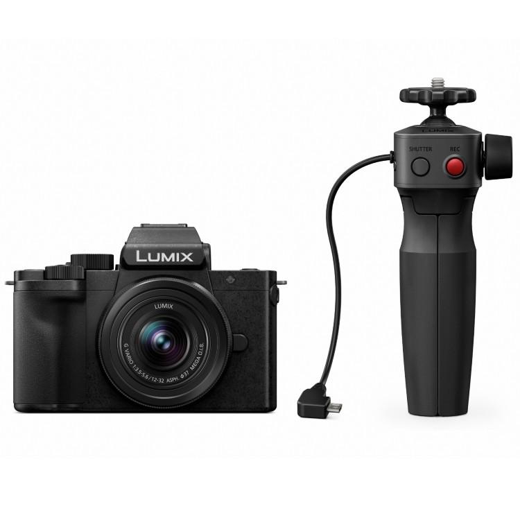 Panasonic Lumix DC-G100 Vlogkit (inkl. 12-32 & Dreibeinstativ Grip) | ✔️ 5 Jahre Garantie!