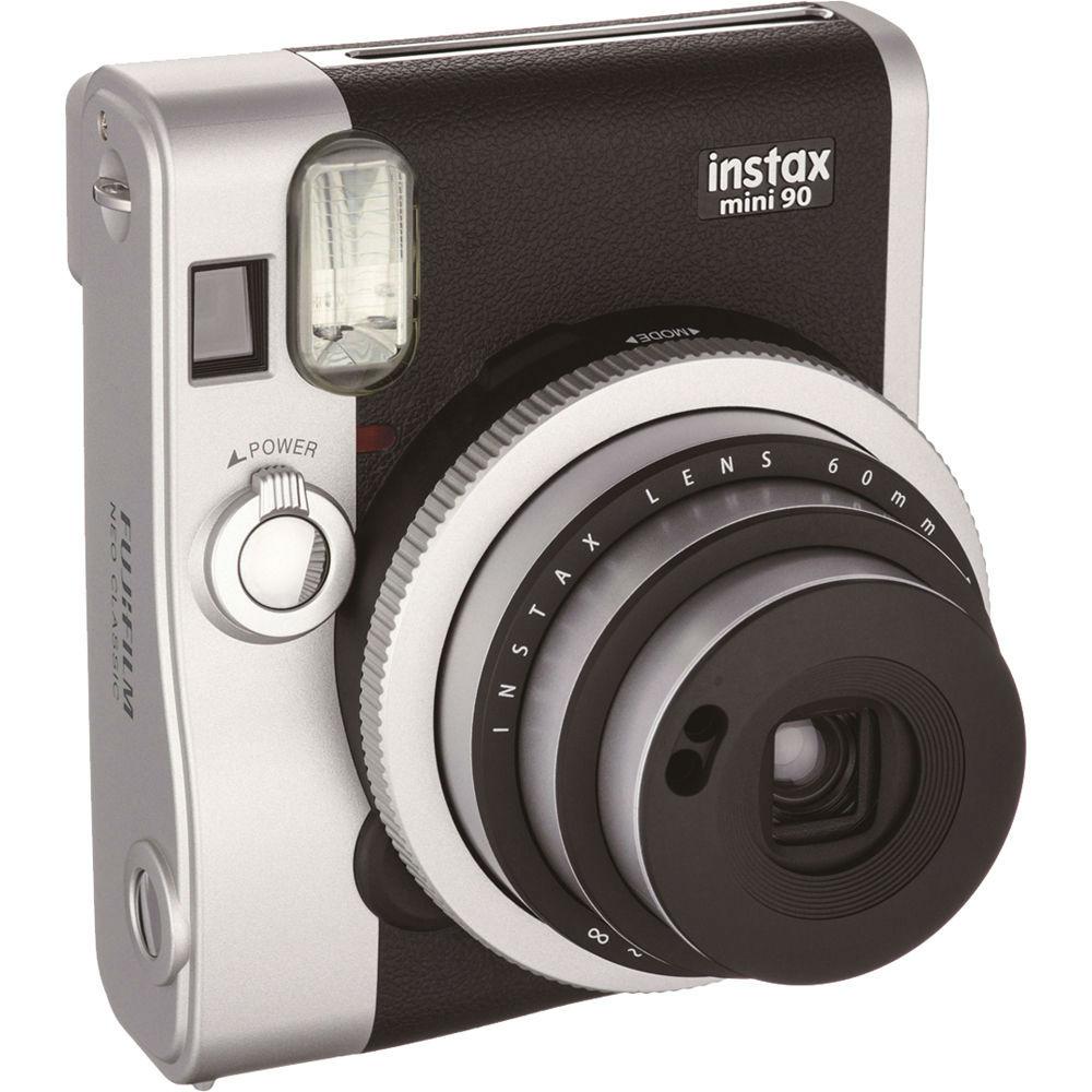 Fuji Instax Fujifilm Instax Mini 90 schwarz incl. Akku