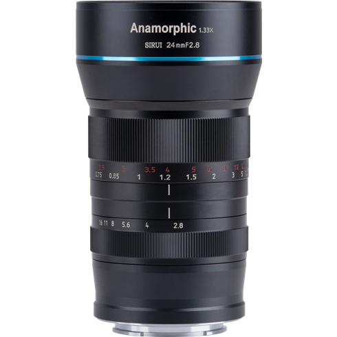 Sirui 24 mm 1: 1,8 anamorphes Objektiv für MFT-Montierung | ✔️ 5 Jahre Garantie!