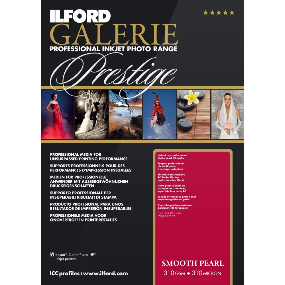 ILFORD Papier Ilford Prestige Smooth Pearl 111.8cm x 27m