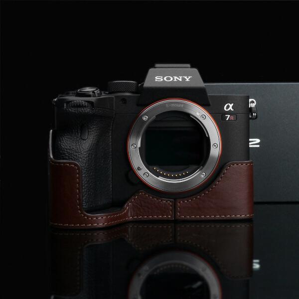 Gariz Halfcase braun für Sony A7 mark IV
