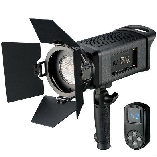 Bresser SP-60 Portable LED Fresnel Light 60W