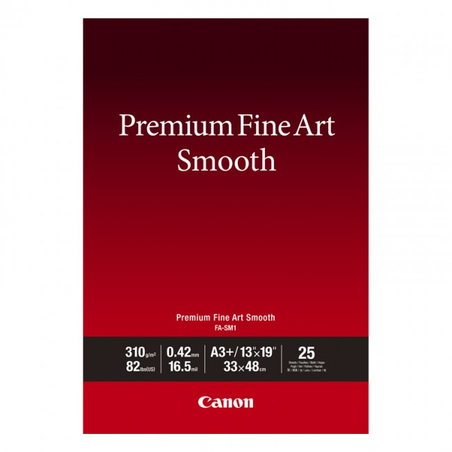 Canon FA-SM 1 Premium FineArt Smooth A3+ 310g 25 vel