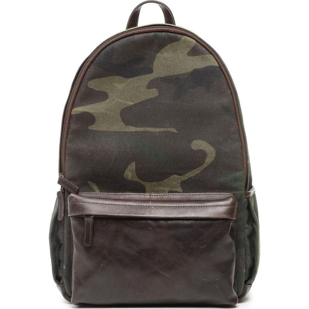 ONA The Clifton Wachs Canvas Rucksack Camouflage