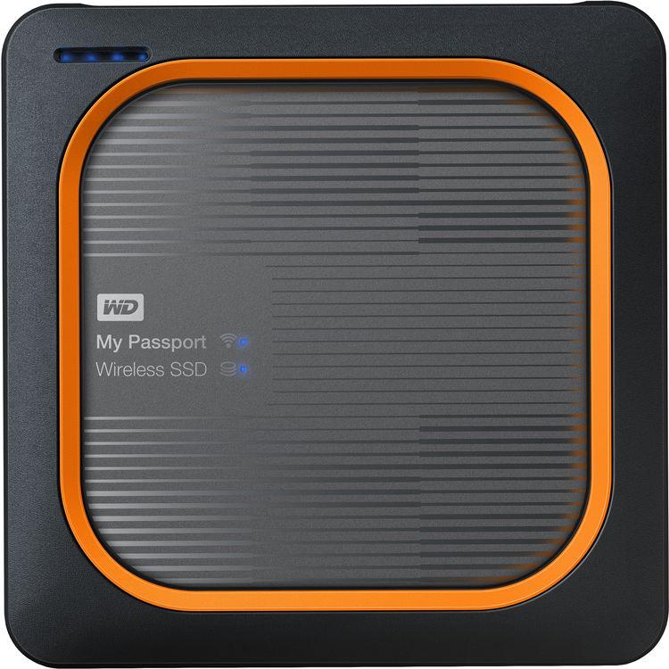 Western Digital My Passport Wireless SSD 500GB grau Externe Festplatte