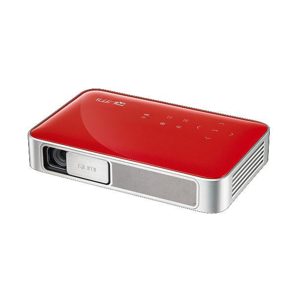 Vivitek Qumi Q38 Pocket Beamer Rot