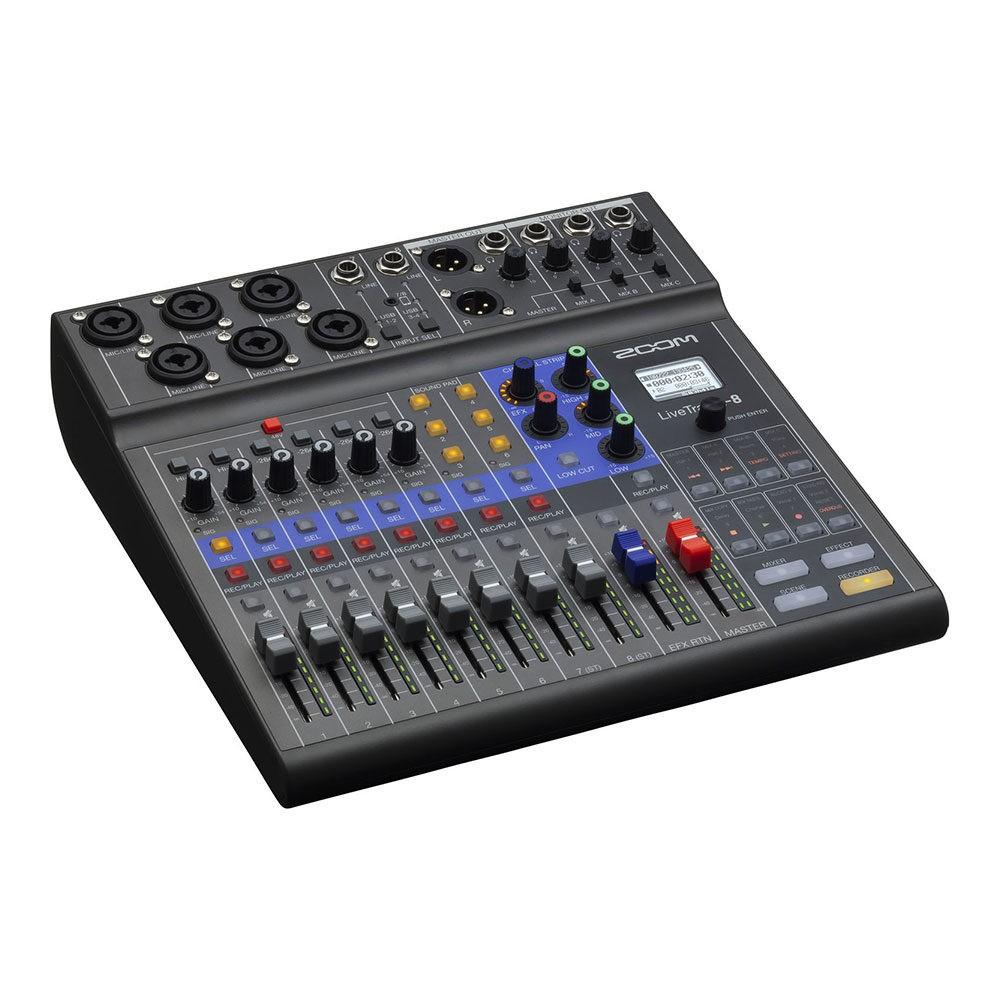 Zoom LiveTrak L-8 Digital Mixer for Podcast
