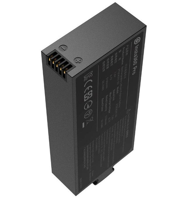 INSTA 360 Pro Lithium-polymeer Batterie