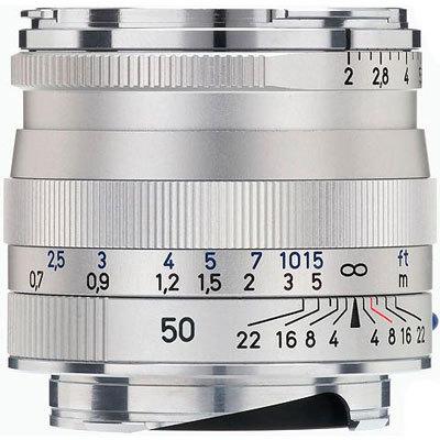 Zeiss 50mm F/2.0 Planar T* silber ZM (Zeiss-Leica) | ✔️ 5 Jahre Garantie!