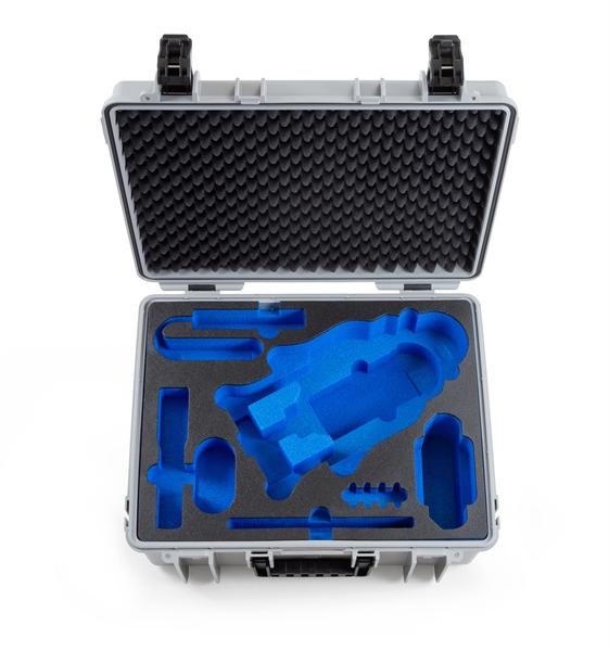 B&W Outdoor.cases Type 6000 grijs + GoPro Karma Inlay