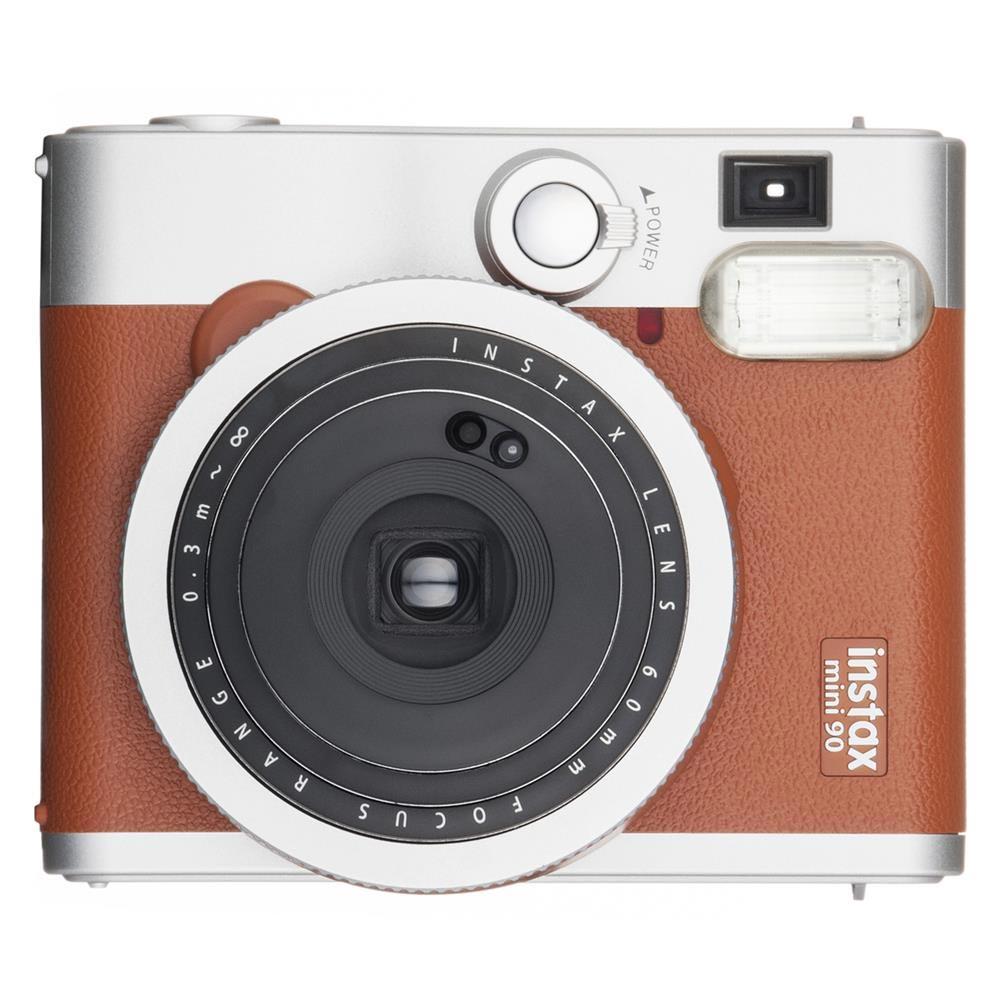 Fuji Instax Fujifilm Instax Mini 90 braun incl. Akku