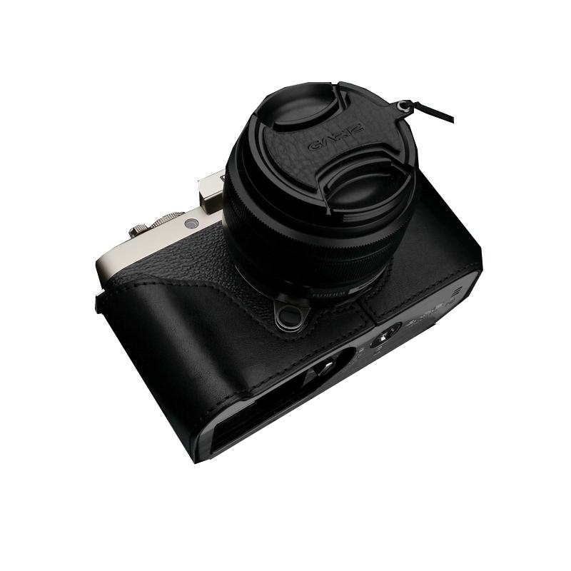 Gariz Halfcase schwarz für Fujifilm X-T100
