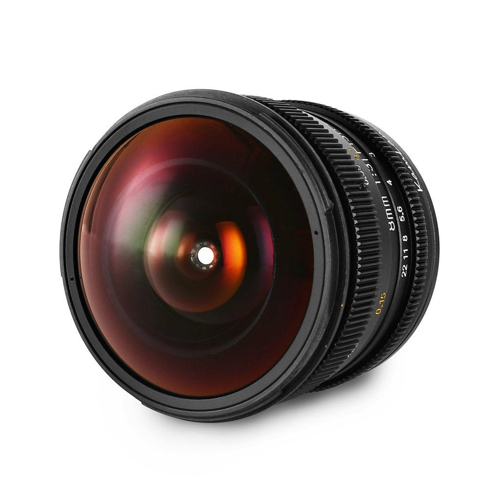 KamLan 8 mm F/3.0 für Canon M