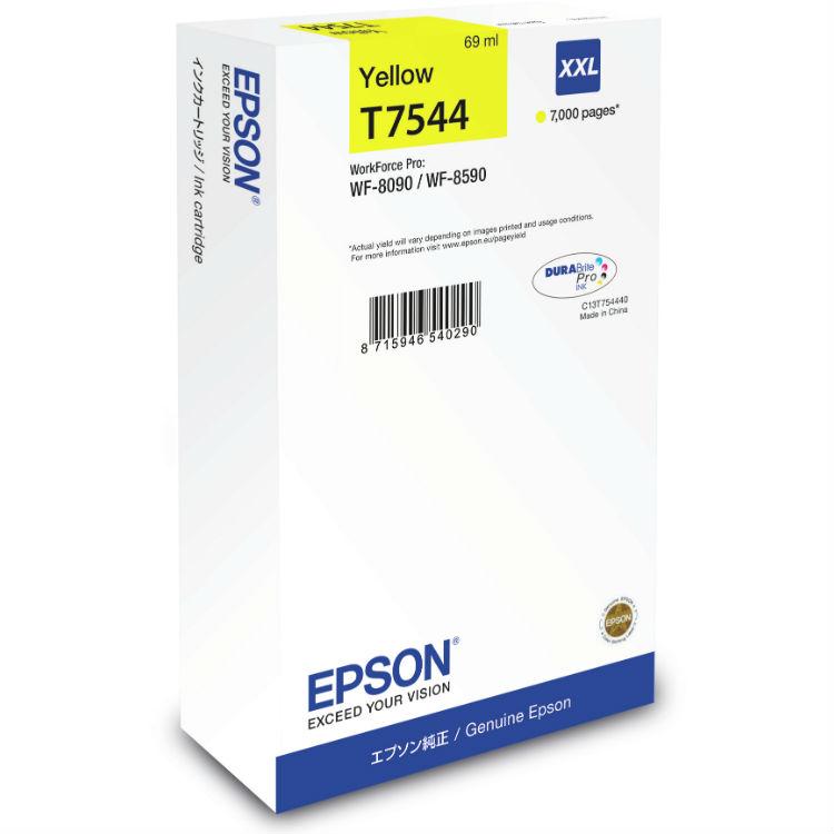 Epson T7544 Gelb XXL Druckfarbe