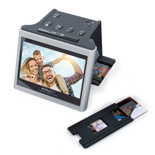 Easypix Cyberscanner View 3-in-1-Scanner für 135/126/110-Film