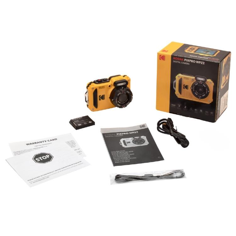 Kodak Pixpro WPZ2 Unterwasserkamera