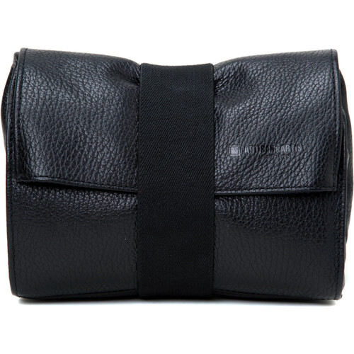 Artisan & Artist ACAM 78 Leather Pouch Black