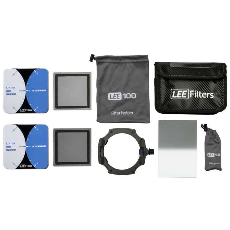 LEE Filters Long Exposure Kit + gratis LE 1477 WideAngle Lens adapter 77mm en gratis Field pouch black