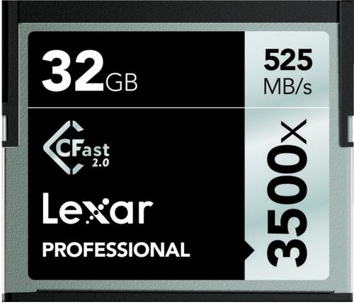 Lexar CFast Pro 32GB 3500x Speicherkarte