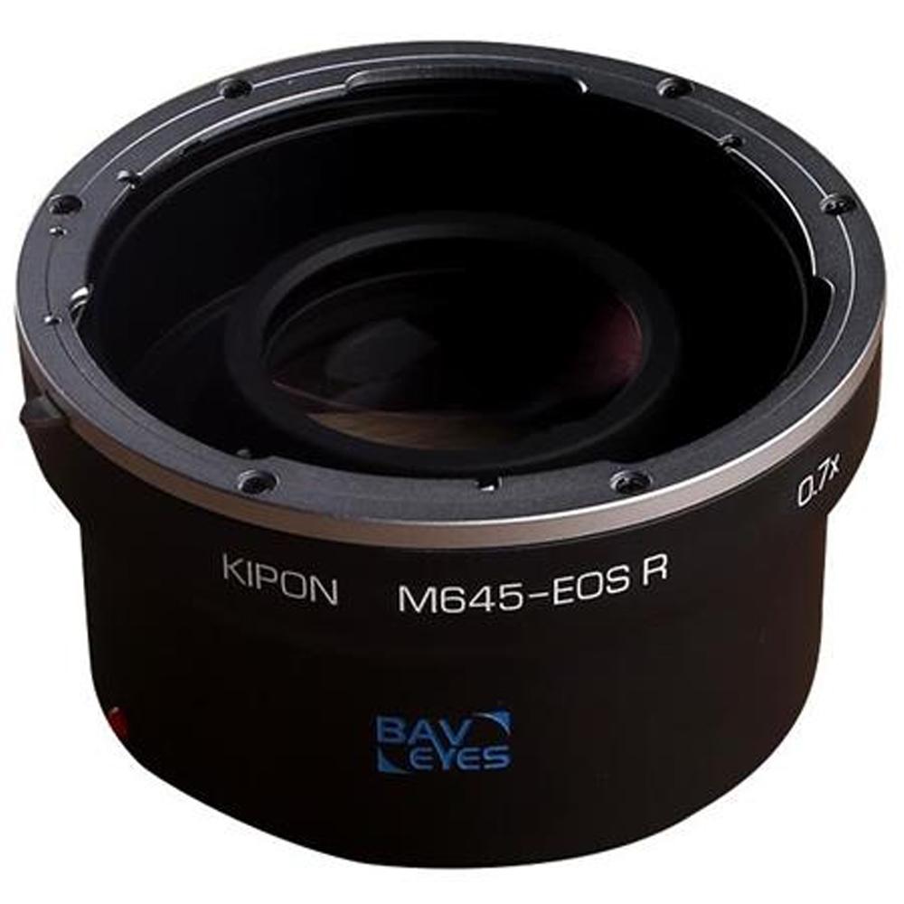 Kipon Baveyes Mamiya 645-EOS R Speed booster