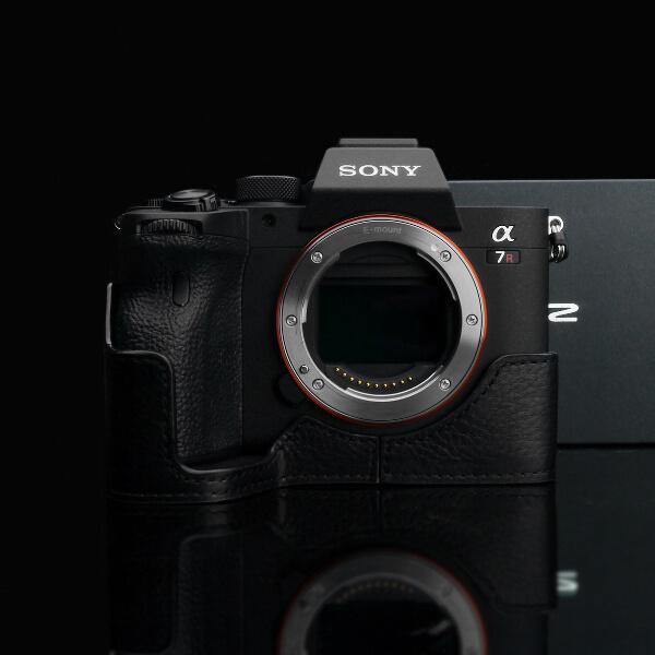 Gariz Halfcase Schwarz für Sony A7 mark IV