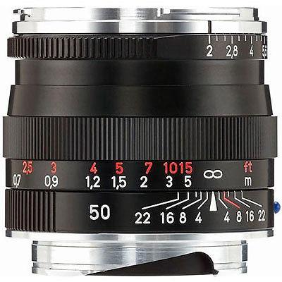 Zeiss 50mm F/2.0 Planar T* schwarz ZM (Zeiss-Leica) | ✔️ 5 Jahre Garantie!