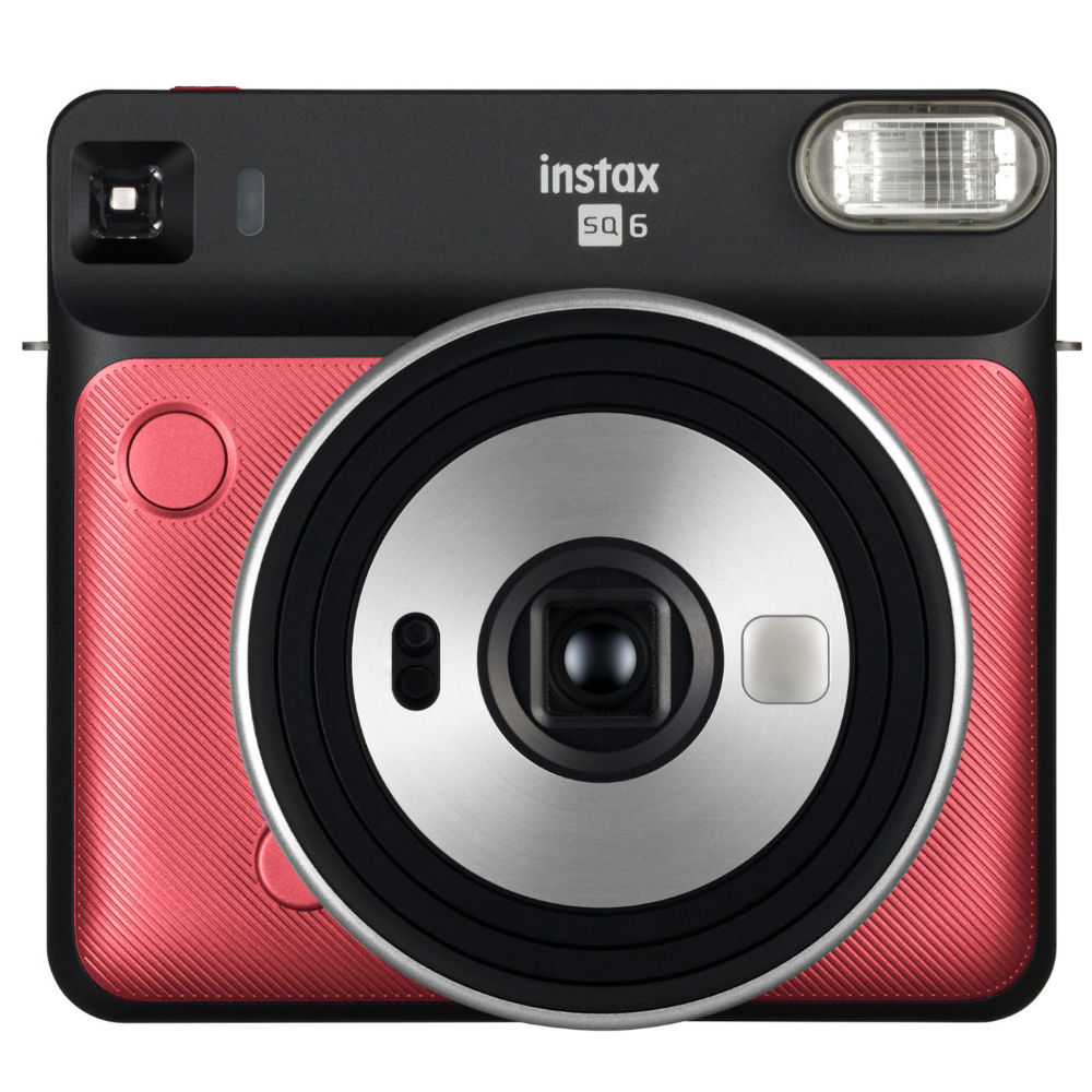 Fuji Instax Fujifilm Instax Square SQ6 Ruby Red